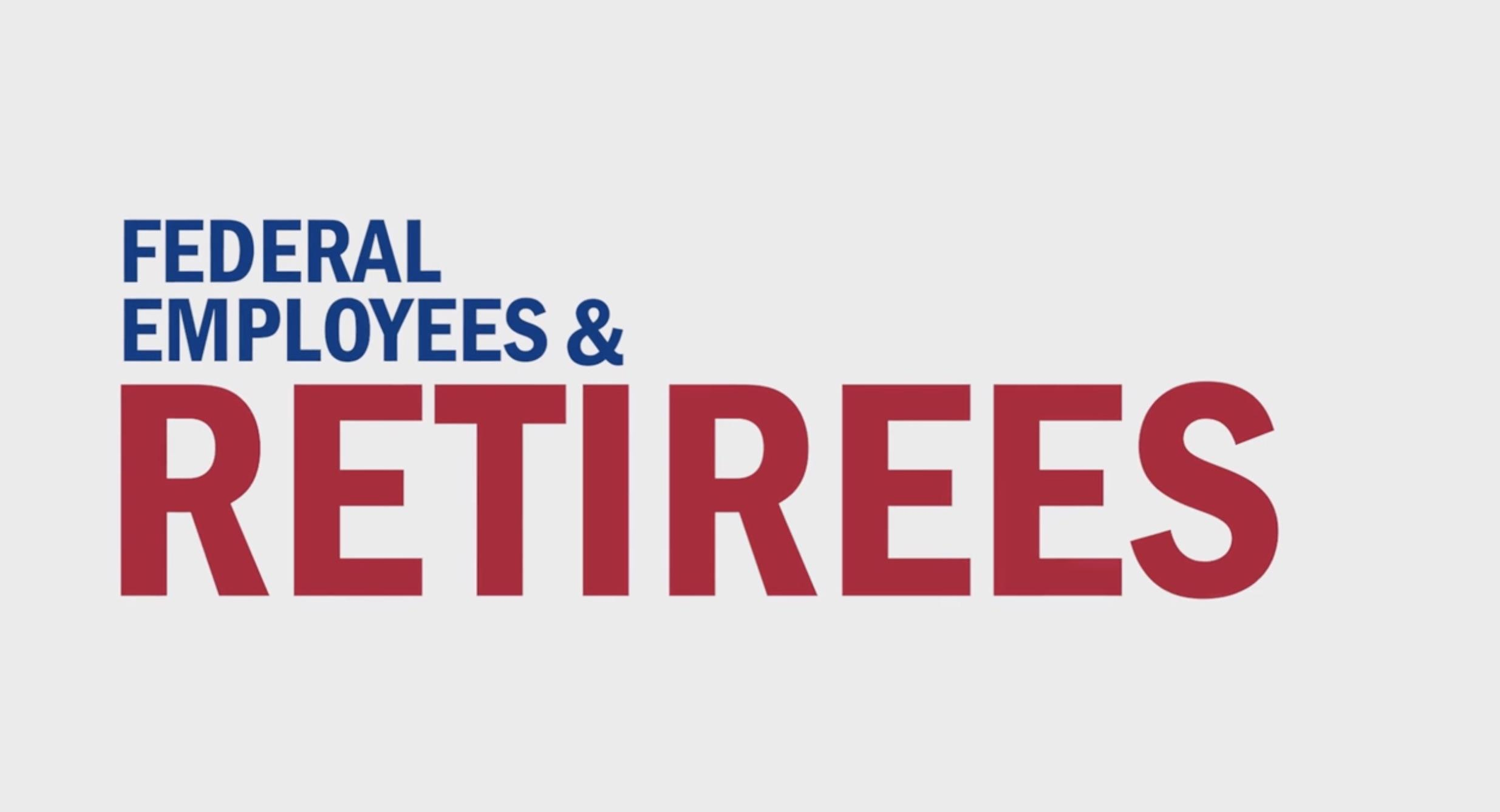 Federal Employee and Ret Image